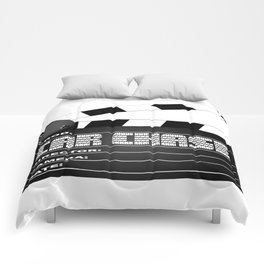 Car Chase Clapperboard Comforters