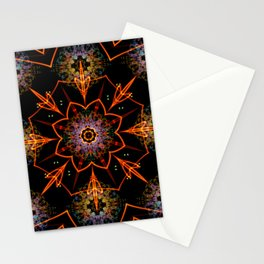 Floral Fractals Stationery Cards