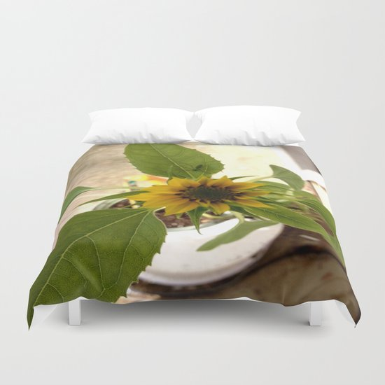 Flower Spider Duvet Cover