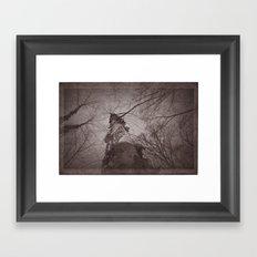 sleepy Framed Art Print