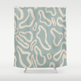 Organical shapes #443 Shower Curtain