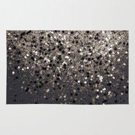Sepia Glitter #1 #shiny #decor #art #society6 Rug