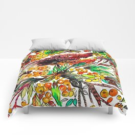 Cinnamon Dove Comforters