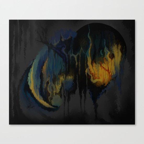 Black Spot Canvas Print