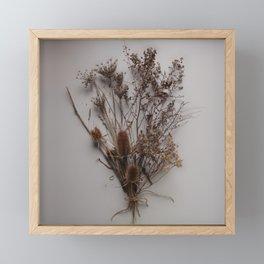 Bouquet Séché Framed Mini Art Print