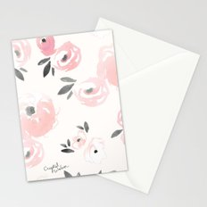 Sweet Blush Blooms Stationery Cards