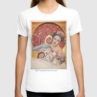 frida kahlo T-shirts featuring Frida kahlo by Magdalena Almero
