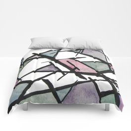 Abstract Triangles  Comforters