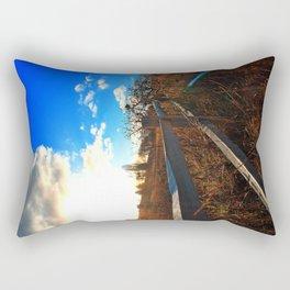 Sandy River Delta Park - Autumn Rectangular Pillow