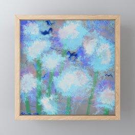 THE DANDELIONS Framed Mini Art Print