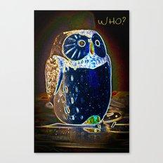 Owl Who? Canvas Print