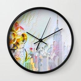New York Colore Wall Clock