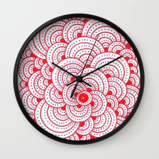 Dot Cluster 2 Wall Clock