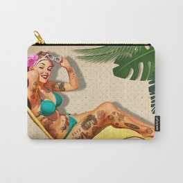Beach Pin-up Carry-All Pouch