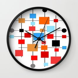 Mid-Century Modern Art 1.3.3 Wall Clock