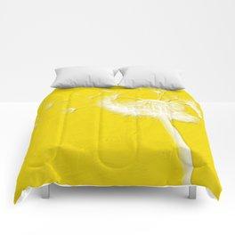 Freesia Yellow Dandelion Comforters