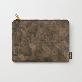 Walnut Burl Wood Carry-All Pouch