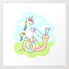 Unicorn Ride Art Print
