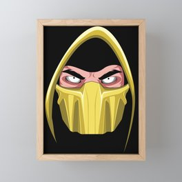 The Mask of Scorpions Framed Mini Art Print