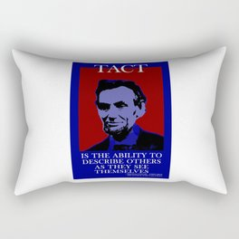 Four Score and Whatever Rectangular Pillow