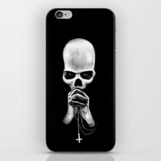 Straight Is the Gate and Narrow the Way iPhone & iPod Skin