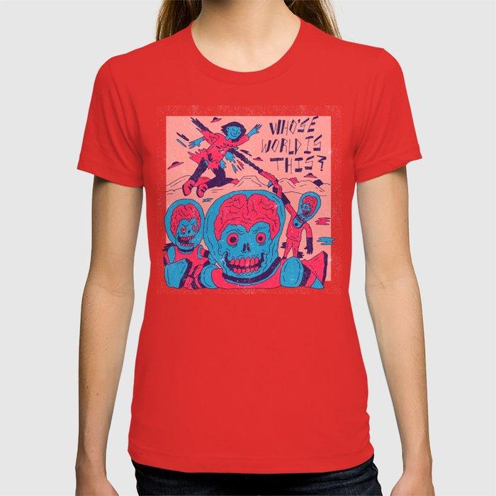 Mars Attacks X Nas T-shirt