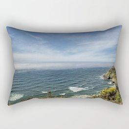 Sea Lion Caves Along the Oregon Coast Rectangular Pillow