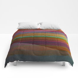 """Architecture, Colorful Rainbow"" by Mar Cantón Comforters"