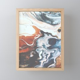 Move with me Framed Mini Art Print