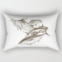 Saltwater big game Rectangular Pillow