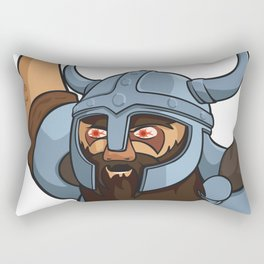 Viking berserker Rectangular Pillow