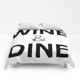 Wine & Dine Comforters