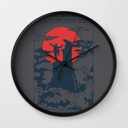 Gamer Fu Wall Clock