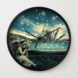 The Knowledge Keeper Wall Clock