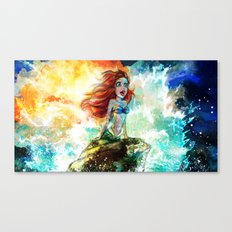 ~~ Someday I'll be part of your wooooorld~~  Canvas Print