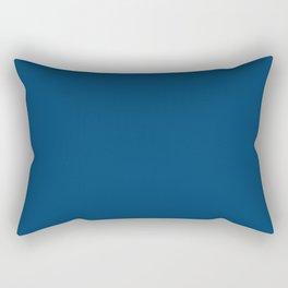 Indigo Blue Rectangular Pillow