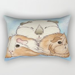 Guinea Pig Cuteness Rectangular Pillow