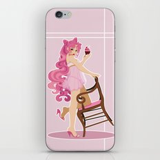 Sailor Moon Pinup - Chibiusa Cupcake iPhone & iPod Skin