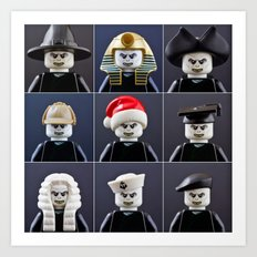 Voldemort Cosplay Art Print