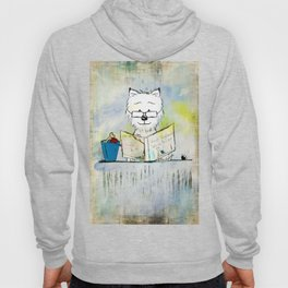 West Highland White Terrier ~ Westie ~ Sophisticated Wally ~ Ginkelmier Hoody