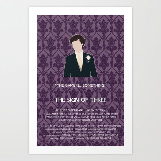 The Sign of Three - Sherlock Holmes Art Print