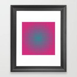 dotted fantasy Framed Art Print