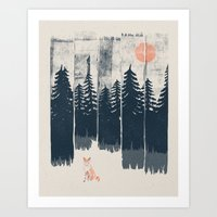Art Prints featuring A Fox in the Wild... by NDTank