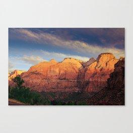 Zion Sunrise Canvas Print