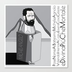 micky Canvas Print