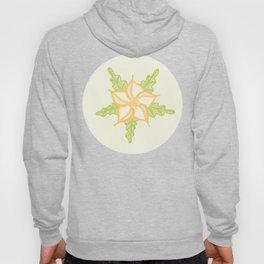 Ditsy Flower Seamless Vector Pattern Hoody