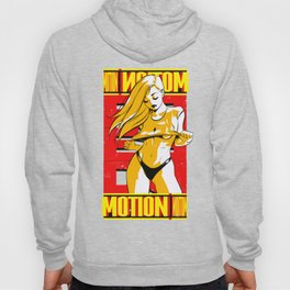Red Motion. Hoody