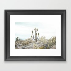 surrounded by friends Framed Art Print
