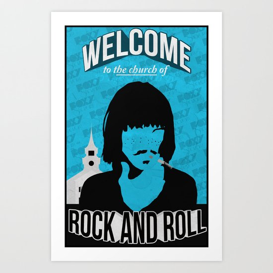 Foxy Shazam - Welcome to the Church of Rock and Roll Art Print