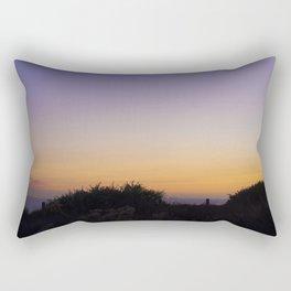 Last Crescent Moon of Summer Rectangular Pillow